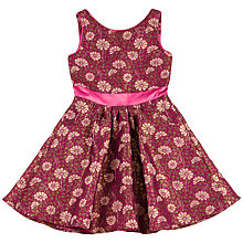 Buy Derhy Kids Girls' Lea Flower Print Dress, Pink Online at johnlewis.com