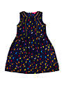 Derhy Kids Girls' Mallary Bird Print Dress, Navy/Multi