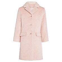 Buy Somerset by Alice Temperley Girls' Mohair Over Coat, Pink Online at johnlewis.com