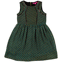 Buy Derhy Kids Girls' Malicia Geo Print Dress, Green Online at johnlewis.com
