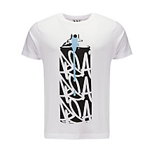 Buy Pear Shaped Apparel Can Graphic Print T-Shirt Online at johnlewis.com
