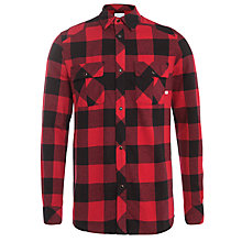 Buy Eleven Paris Kado Plaid Shirt, Red/Black Online at johnlewis.com