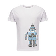 Buy Pear Shaped Apparel Robot T-Shirt Online at johnlewis.com