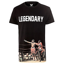 Buy Eleven Paris Muhammad Ali Legendary T-Shirt, Black Online at johnlewis.com