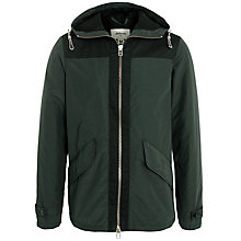 Buy Bellerose Oxford Hooded Jacket, Dark Green Online at johnlewis.com