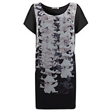Buy Mint Velvet Lily Print T-Shirt Dress, Multi Online at johnlewis.com