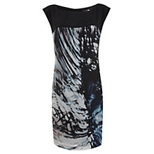 Buy Mint Velvet Ida Print Cocoon Dress, Multi Online at johnlewis.com