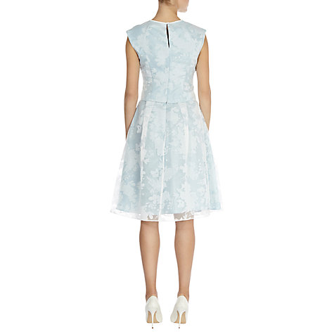 Buy Coast Harper Skirt, Pale Blue Online at johnlewis.com