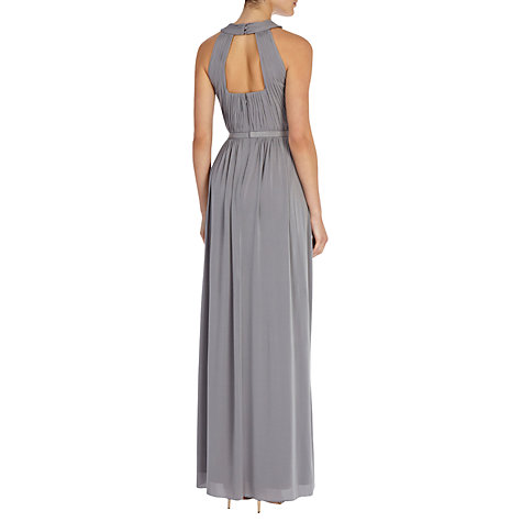 Buy Coast Claudia Jersey Maxi Dress, Grey Online at johnlewis.com