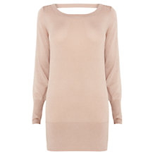 Buy Coast Farah Knit Top, Old Rose Online at johnlewis.com