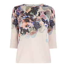 Buy Coast Floral Print Jumper, Multi Online at johnlewis.com