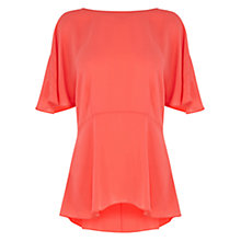 Buy Coast Heptune Top, Coral Online at johnlewis.com