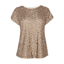 Buy Coast Ginevie Top, Neutral Online at johnlewis.com