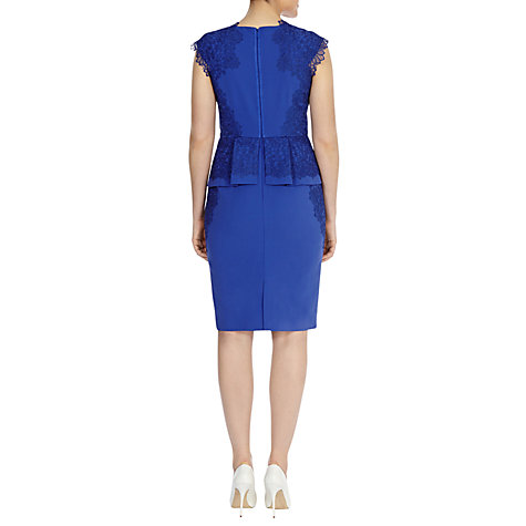 Buy Coast Lucy Dress, Blue Online at johnlewis.com