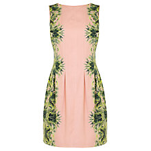 Buy Coast Katrianna Dress, Pink/Green Online at johnlewis.com