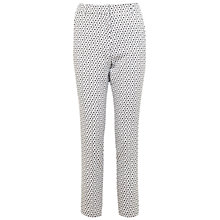 Buy Miss Selfridge Mono Daisy Trousers, Multi Online at johnlewis.com