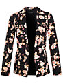 Miss Selfridge Floral Printed Jacket, Multi