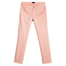 Buy Violeta by Mango Straight Fit Cotton Trousers Online at johnlewis.com