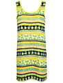 Miss Selfridge Embellished Dress, Yellow