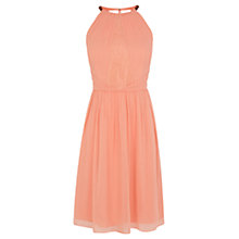 Buy Coast Lena Dress, Coral Online at johnlewis.com