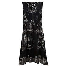 Buy Mint Velvet Avita Print Block Lace Dress, Multi Online at johnlewis.com