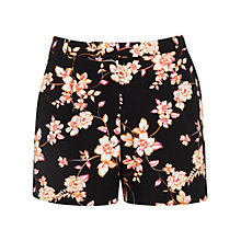Buy Miss Selfridge Floral Shorts, Multi Online at johnlewis.com
