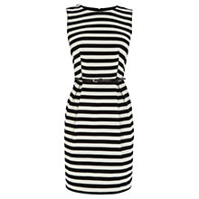 Buy Coast Missouri Dress, Black/White Online at johnlewis.com
