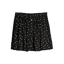 Buy Mango Star Flared Skirt, Black Online at johnlewis.com