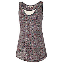 Buy Fat Face Mumbles Mini Palm 2 in 1 Cami, Navy Online at johnlewis.com