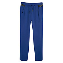 Buy Mango Appliqué Baggy Trousers Online at johnlewis.com