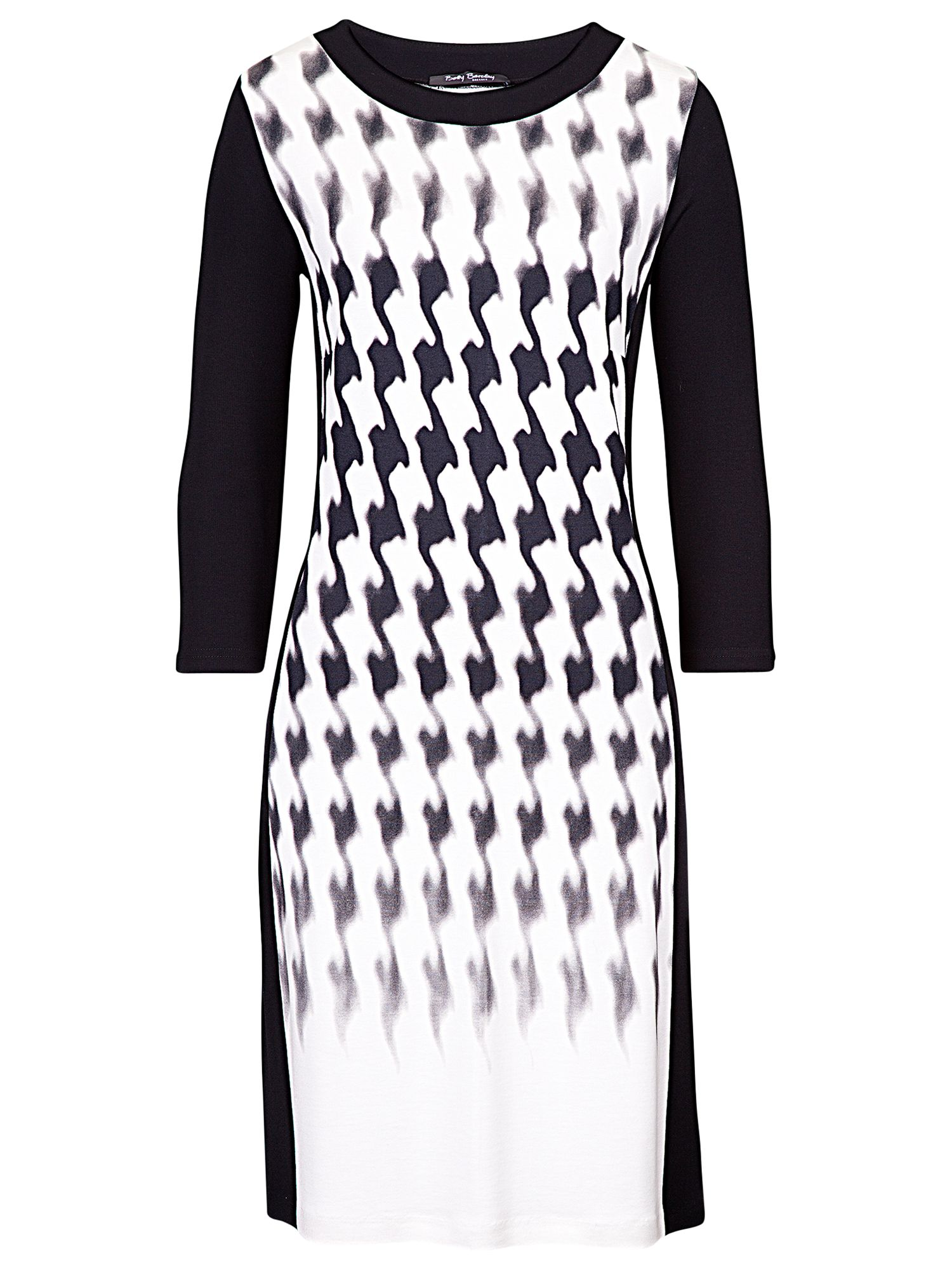 betty barclay digital dogtooth dress cream/black, betty, barclay, digital, dogtooth, dress, cream/black, betty barclay, 20|18, clearance, womenswear offers, womens dresses offers, women, inactive womenswear, new reductions, womens dresses, special offers, 1505300