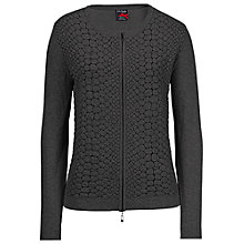 Buy Betty Barclay Cotton Zip Front Cardigan Online at johnlewis.com