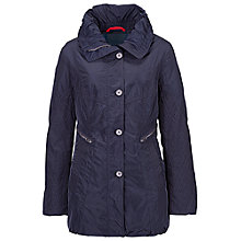 Buy Betty Barclay Stitch Hood Jacket, Night Blue Online at johnlewis.com