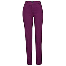 Buy Betty Barclay Perfect Body Bi-Stretch Jeans, Strong Purple Online at johnlewis.com