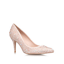 Buy Carvela Gloria Diamante Court Shoes, Pale Pink Online at johnlewis.com
