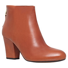 Buy Carvela Superb High Heel Leather Ankle Boots Online at johnlewis.com