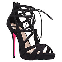 Buy Carvela Guard Strappy Stiletto High Heeled Sandals Online at johnlewis.com