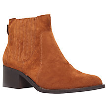 Buy Carvela Sombrero Suede Ankle Boots, Tan Online at johnlewis.com