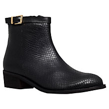 Buy Carvela Spectacle Leather Reptile Effect Ankle Boots Online at johnlewis.com