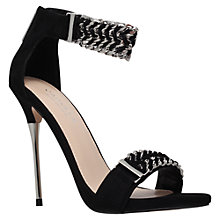 Buy Carvela Garland Woven Detail High Heel Sandals Online at johnlewis.com