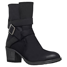 Buy Carvela Silk Leather Wraparound Strap Calf Boots Online at johnlewis.com
