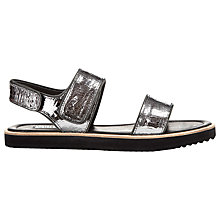 Buy Whistles Holly Flatform Leather Sandals Online at johnlewis.com