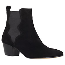 Buy Carvela Scottie Ankle Boots, Black Online at johnlewis.com