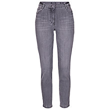 Buy Betty Barclay Embroidered Rose Jeans, Grey Denim Online at johnlewis.com