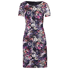Buy Betty Barclay Lace Shift Dress, Dark Pink/Rosé Online at johnlewis.com