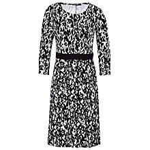 Buy Betty Barclay Dalmatian Print Dress, Black/Cream Online at johnlewis.com