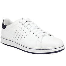 Buy Polo Ralph Lauren Wilton Leather Trainer Online at johnlewis.com