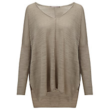 Buy Sandwich V-Neck Jumper, Grey Online at johnlewis.com