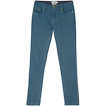 Buy Seasalt Cliff Slim Trousers, Light Indigo Online at johnlewis.com