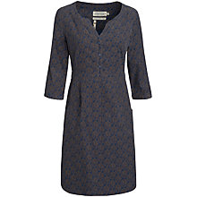 Buy Seasalt Paxton Dress, Beach Leaf French Navy Online at johnlewis.com